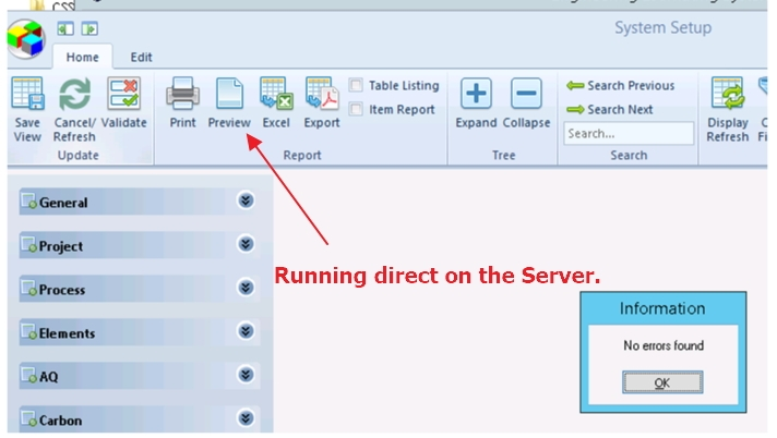 Icons not displaying when using Terminal Session Windows Server 2012